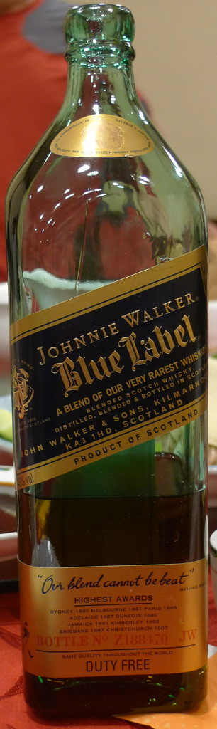JohnnieWalkerBlueLabels