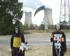 抗议tricastin核电厂