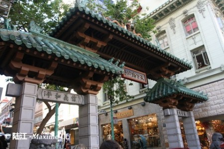 旧金山的唐人街(San Francisco's Chinatown)