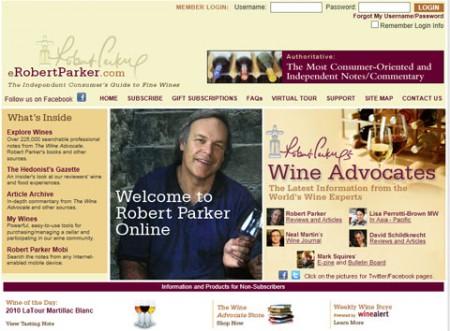 Wine Advocate  eRobert Parker