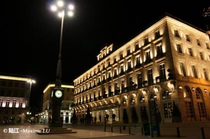波尔多市区夜景