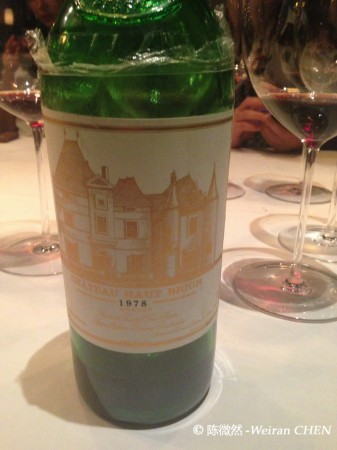 haut brion 1978
